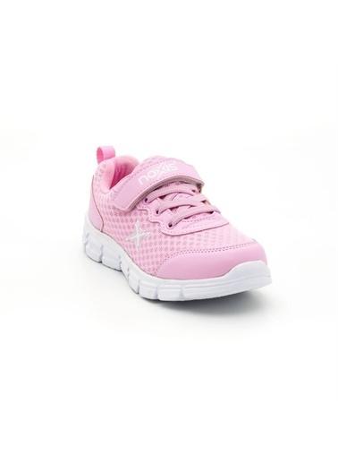 Noxis Noxis April Günlük Kız Çocuk Yürüyüş ve Spor Ayakkabısı Pembe